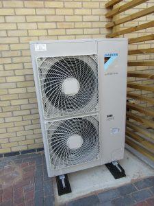 An AES National Air Source Heat Pump Installation (Daikin)